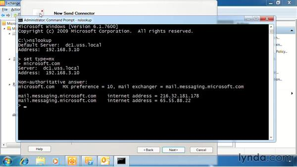 Implement Send connectors: Exchange Server 2010: Designing and Implementing