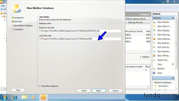 Manage mailbox databases: Exchange Server 2010: Designing and Implementing