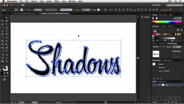 How to create line shadows in Illustrator: Creative Quick Tips