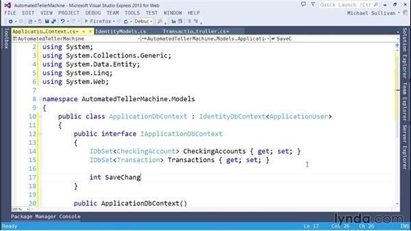 Mocking dependencies: ASP.NET MVC 5 Essential Training