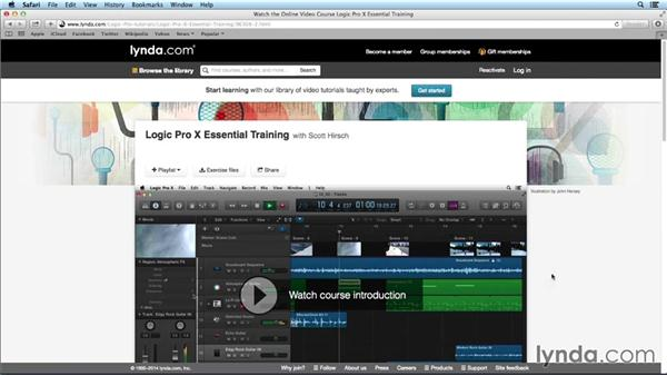 What you should know before watching this course: Mixing and Mastering with Logic Pro X