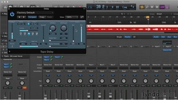 Understanding delay: Mixing and Mastering with Logic Pro X