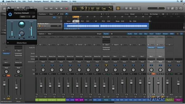 Exploring more effects plugins: Mixing and Mastering with Logic Pro X