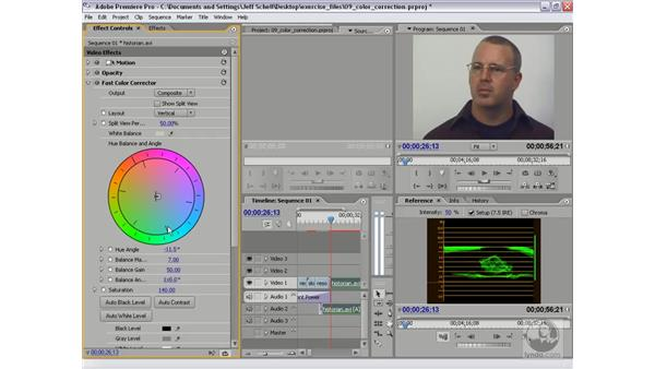 Fast Color Corrector and the Color Correction Wheel: Premiere Pro 2 New Features