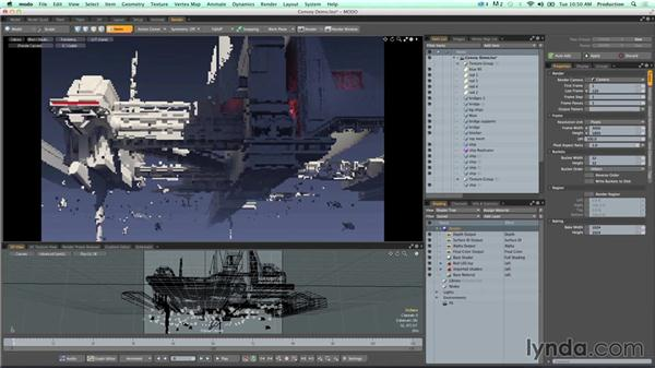 Part 2: Basic polygon modeling in Modo: Artists and Their Work: Conversations about Mograph, VFX, and Digital Art