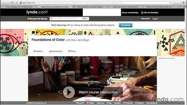 What you should know before watching this course: Advanced Color Workflows for Photographers