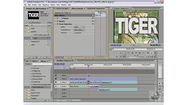 Track matte workflow improvements: Premiere Pro 2 New Features