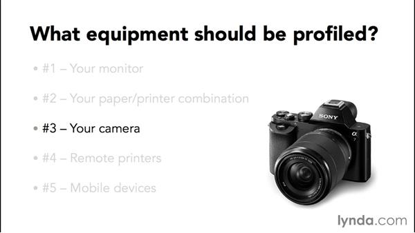 What gear can and should be profiled?: Advanced Color Workflows for Photographers