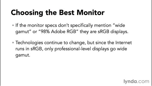 Choosing the best monitor for your needs: Advanced Color Workflows for Photographers