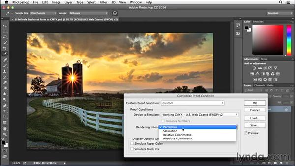 Preparing files for CMYK printing: Advanced Color Workflows for Photographers