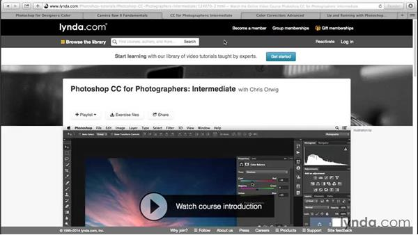 Next steps: Advanced Color Workflows for Photographers