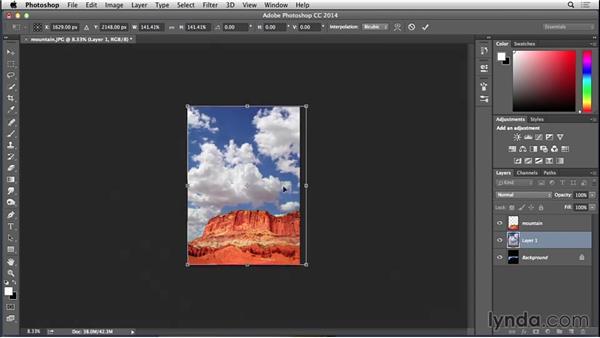 Adding a sky: Bert Monroy: Dreamscapes - Castle on the Mountain