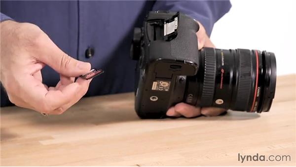 Getting ready to shoot: Up and Running with the Canon 6D