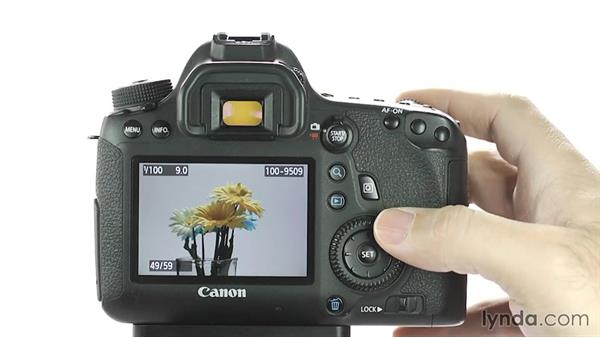 Image review and playback: Up and Running with the Canon 6D
