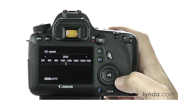 Changing ISO: Up and Running with the Canon 6D