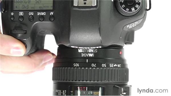 Mirror Lockup mode: Up and Running with the Canon 6D