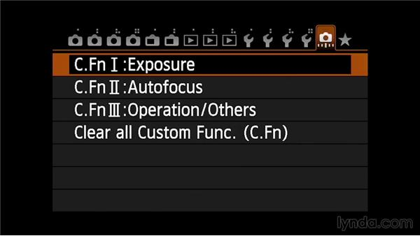 Auto exposure bracketing: Up and Running with the Canon 6D