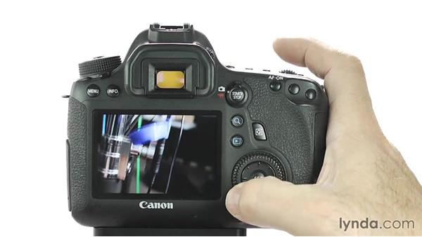 More playback options: Up and Running with the Canon 6D