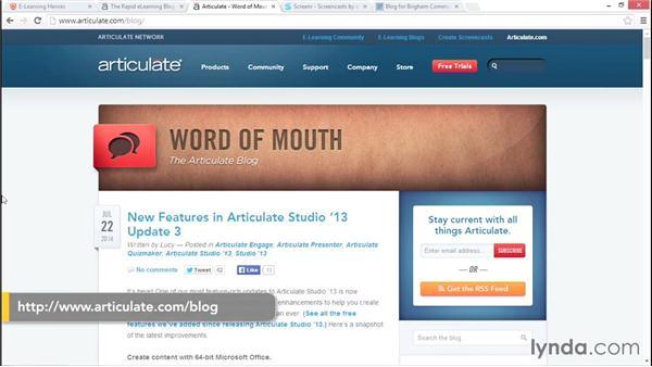 Next steps: Articulate Studio Advanced Techniques