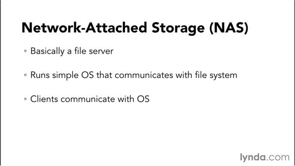 Understanding local storage and network-attached storage (NAS): Setting Up a Small-Office Network