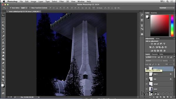 Lighting the trees: Bert Monroy: Dreamscapes - Sci-Fi Tower