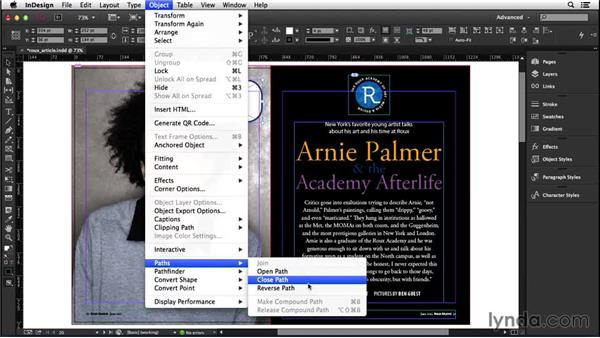 158 Convert rounded corners to editable paths: InDesign Secrets