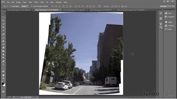 Establishing visually permeable boundaries: Creating Cityscapes in 3ds Max