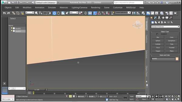 Creating a reference structure: Creating Cityscapes in 3ds Max