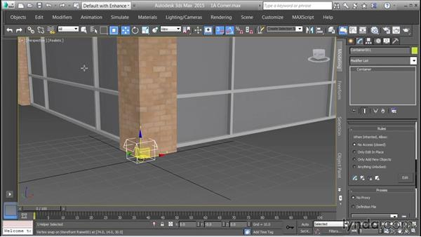 Containerizing assets for referencing: Creating Cityscapes in 3ds Max