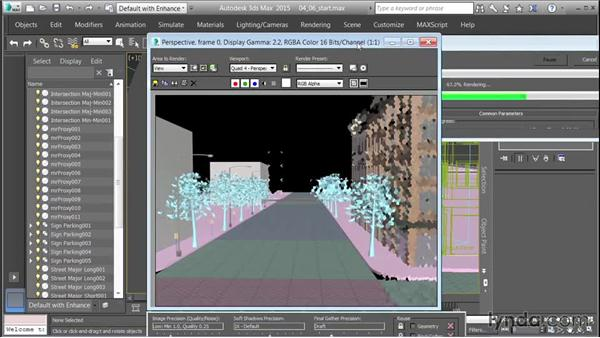 Placing and duplicating trees: Creating Cityscapes in 3ds Max