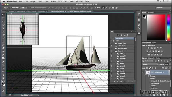 Adding the ship: Bert Monroy: Dreamscapes - Mystical Passage