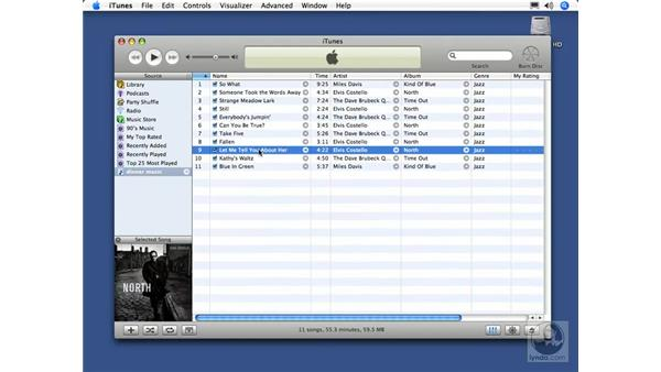 Creating playlists: iTunes 5 and 6 + iPod Essential Training