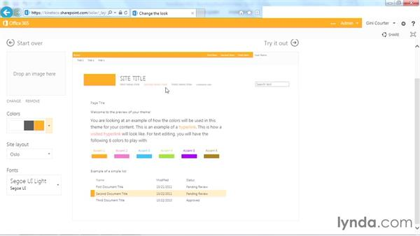 Modifying a composed look: SharePoint Designer 2013: Branding SharePoint Sites