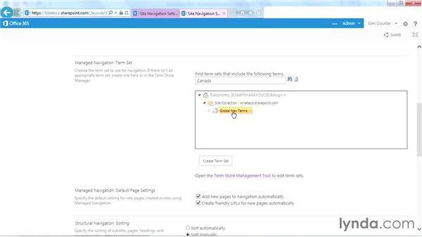 Editing navigation on a publishing site: SharePoint Designer 2013: Branding SharePoint Sites