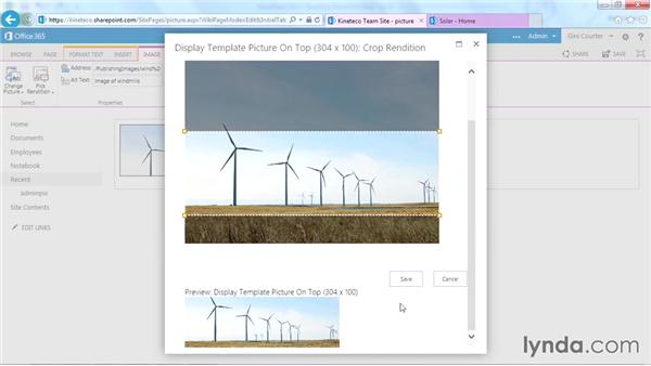 Editing an image rendition: SharePoint Designer 2013: Branding SharePoint Sites
