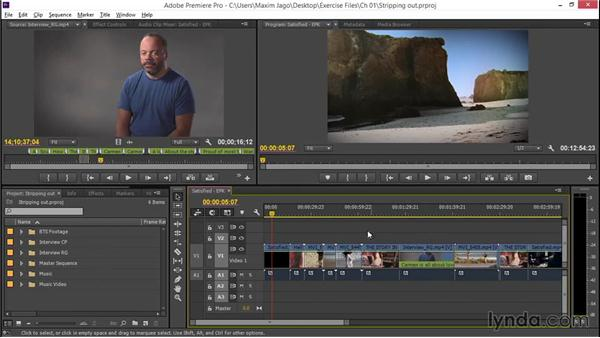 Stripping out the unnecessary: EPK Editing Workflows 02: Creative Editing and Fine-Tuning