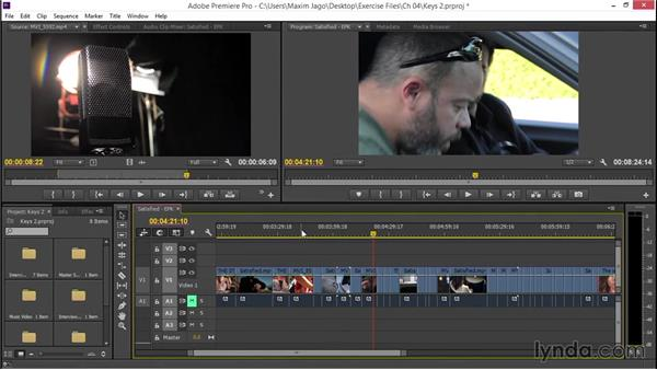 Using shortcuts for greater timeline control: EPK Editing Workflows 02: Creative Editing and Fine-Tuning