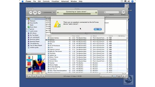 Airtunes: iTunes 5 and 6 + iPod Essential Training