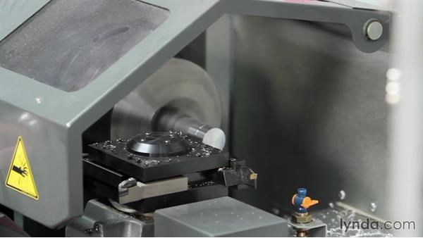 Exploring how a CNC lathe is run: Rapid Prototyping for Product Design
