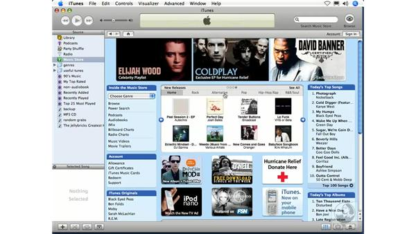 Store overview: iTunes 5 and 6 + iPod Essential Training