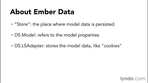 Set up the Notes page layout: Up and Running with Ember.js