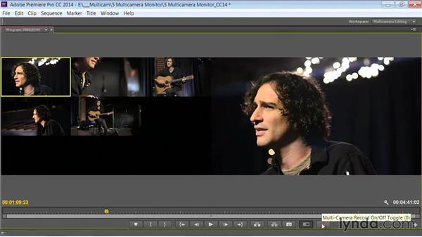 Creating a multicamera workspace: Premiere Pro Guru: Multi-Camera Video Editing