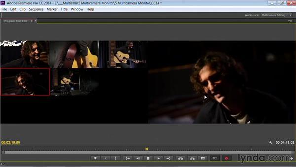 Performing the first edit: Premiere Pro Guru: Multi-Camera Video Editing