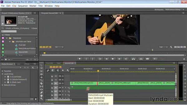 Adjusting and refining edits: Premiere Pro Guru: Multi-Camera Video Editing