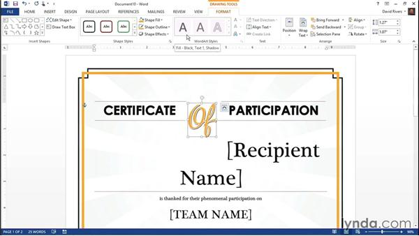 Using Word templates: Weekly Office Workshop