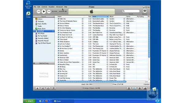 Syncing contacts and calendars (Mac and Windows): iTunes 5 and 6 + iPod Essential Training