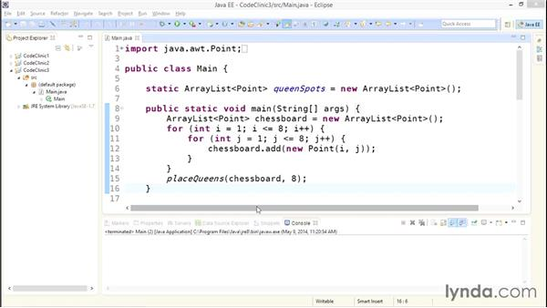 Solution overview: Code Clinic: Java
