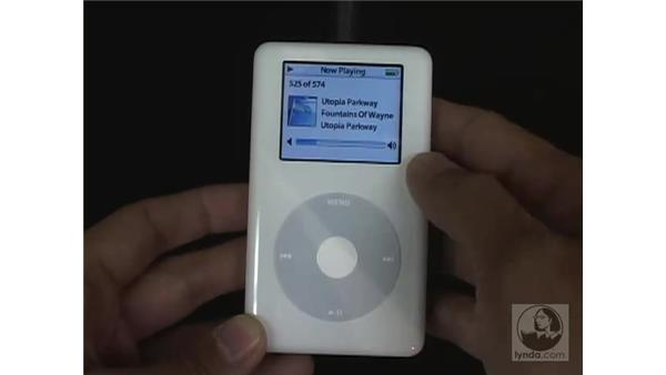 iPod controls: iTunes 5 and 6 + iPod Essential Training