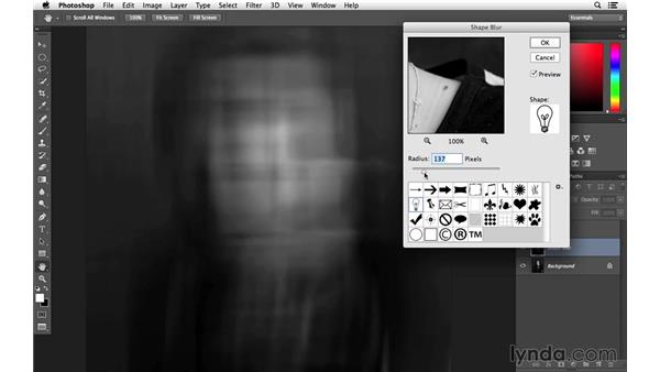 Beginning with Shape Blur: Creative Blurring with Photoshop