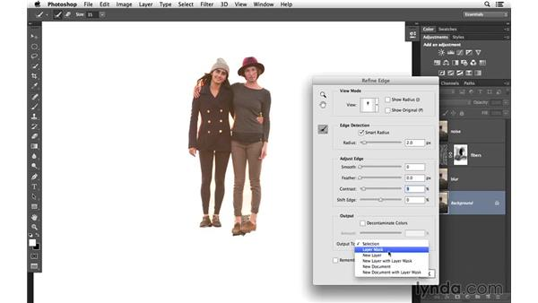 Extracting the subjects from their environment: Creative Blurring with Photoshop